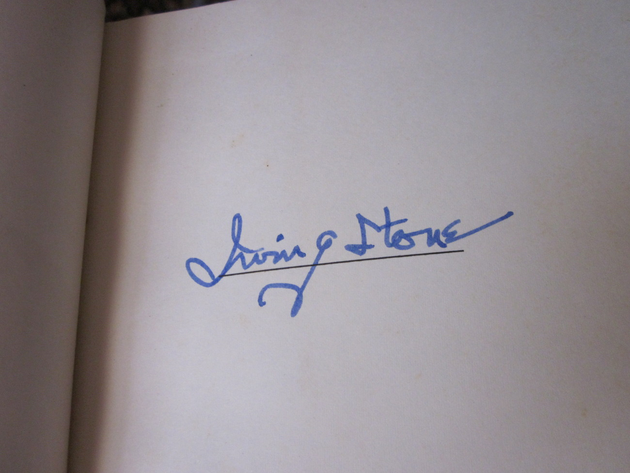 The Greek Treasure by Irving Stone 1975 Autographed