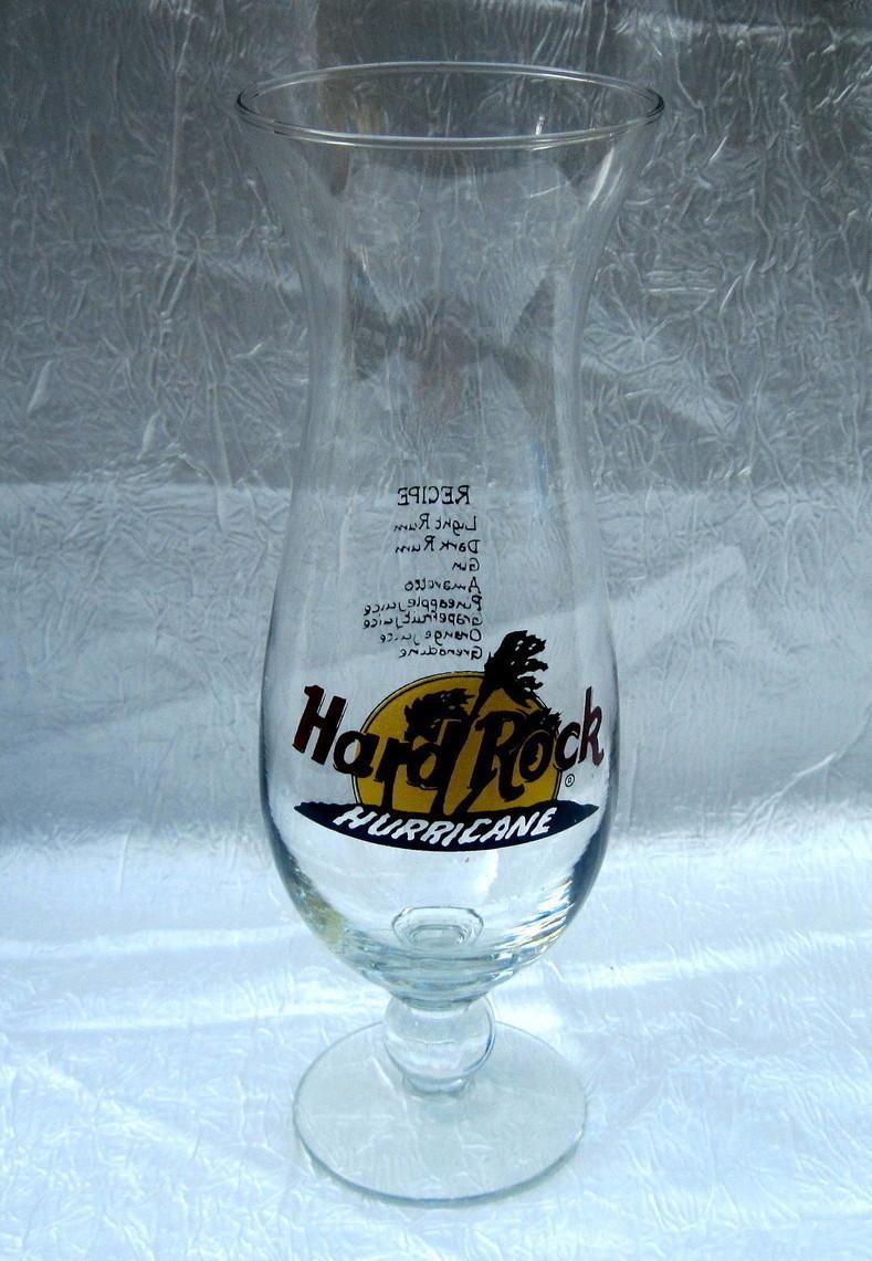 Hard Rock Cafe Hurricane Glass Price