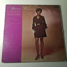 Dionne Warwick Vinyl LP Record  I'll Never Fall in Love Again 1966 - £5.50 GBP