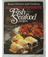 Vtg 1980 Better Homes and Gardens Fish and Seafood Recipes Hardcover Coo... - $15.79