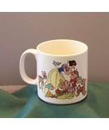 Snow White And The Seven Dwarfs 12 Oz Coffee Mug VGC - $8.25