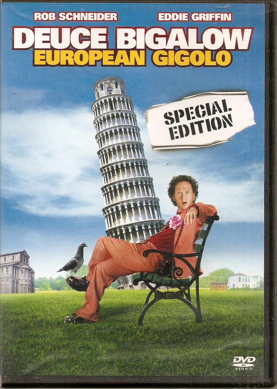 DVD--Deuce Bigalow: European Gigolo [WS] directed by Mike Bi
