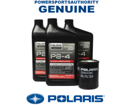 2016-2018 Polaris RZR XP Turbo XP 4 EPS OEM Extreme Duty Oil Change Kit ... - $53.99