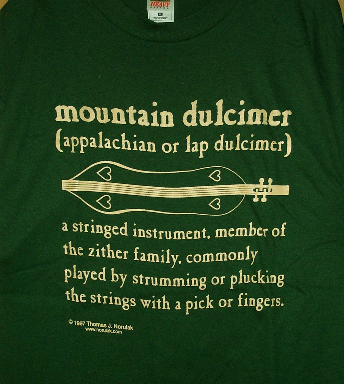 Mountain Dulcimer Definition T-Shirt