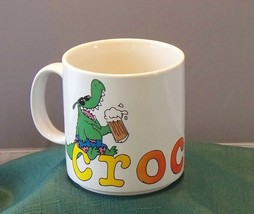 Jim Benton Crocked 12 Oz Coffee Mug By Russ Berrie 1987 VGC - $9.50