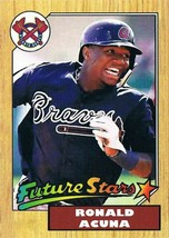 Ronald Acuna 1987 Topps Style - Aceo RP - $2.00