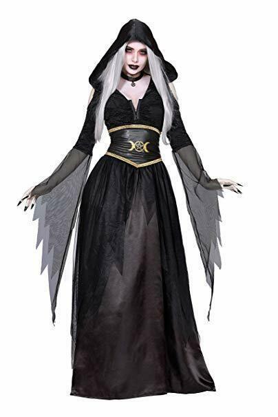 Dreamgirl Pagano Bruja Wicano Luna Diosa Adulto Mujer Disfraz Halloween 11582