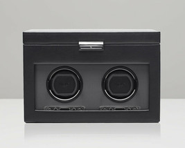 WOLF Viceroy 2.7 Double Watch Winder Storage Battery Powered Box Display - $775.00