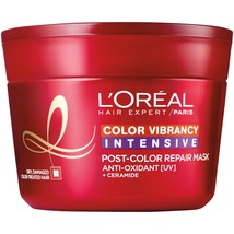 L'Oreal Paris Hair Expert Color Vibrancy Intensive Ultra Recovery Mask, ... - $15.83