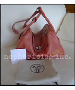 RARE AUTH NEW S$11100 Hermes LINDY 34 Shoulder ... - $7,850.00