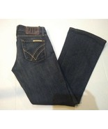 William Rast Women's Boot Cut Dark Wash Jeans Size 25 - $29.58