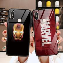 Marvel Venom Tempered glass iron Man TPU Cover For Xiaomi Mi 9 A2 6X Max... - $15.65