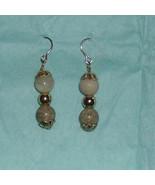 African opal earring in 22k gold - $20.00