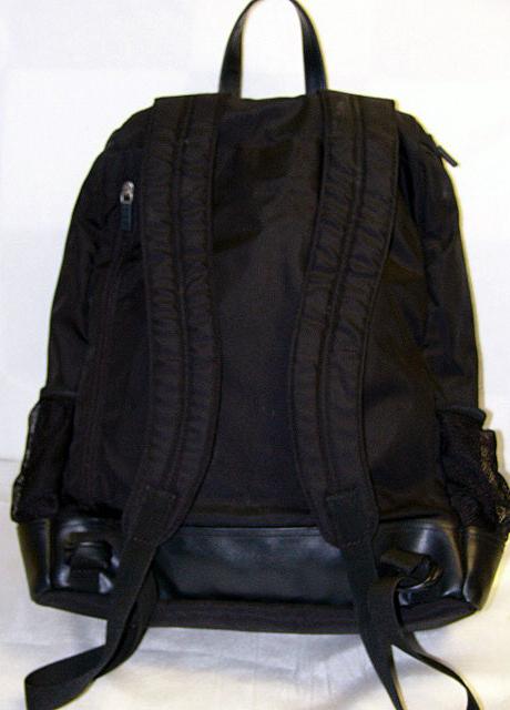gap diaper bag backpack black nylon xclnt 6 pocket diaper bags. Black Bedroom Furniture Sets. Home Design Ideas