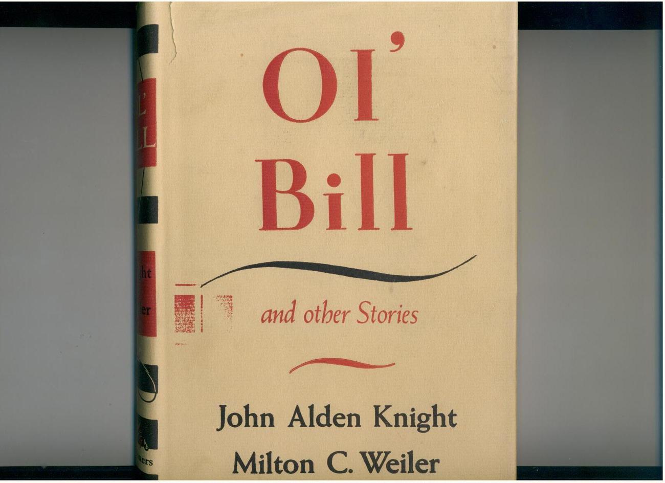 Knight-OL' BILL-1942-hunting/fishing-signed limited 1st ed.