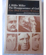 The Disappearance Of God by J. Hillis Miller Paperback 1965 - $12.99
