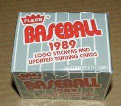 1989 FLEER UPDATE SET SEALED 132 CT. - $7.92