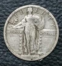 1919 STANDING LIBERTY QUARTER COIN Lot # MZ 4654