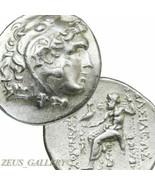 ALEXANDER the Great Tetradrachm King Kavaros. Herakles Ancient Greek Sil... - $809.10