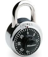 Master Lock - Stainless Steel Combo Combination Lock - $11.99