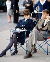 Audrey Hepburn and Peter O'Toole in How to Steal a Million relaxing on set 16x20 - $69.99