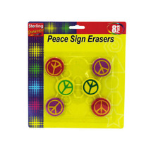 Peace Sign Erasers - $6.42