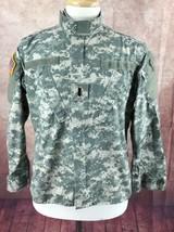 Propper Army Combat Uniform Coat Jacket Digital Camo Green Gray Mens Small-Short - $15.26