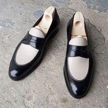 Handmade Men Two tone Shoes, Men spectator shoes, Men formal shoes, Men shoes - $169.99
