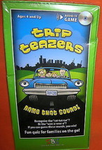 SBG Trip Teazers Name That Sound! Audio CD Game... - $9.90