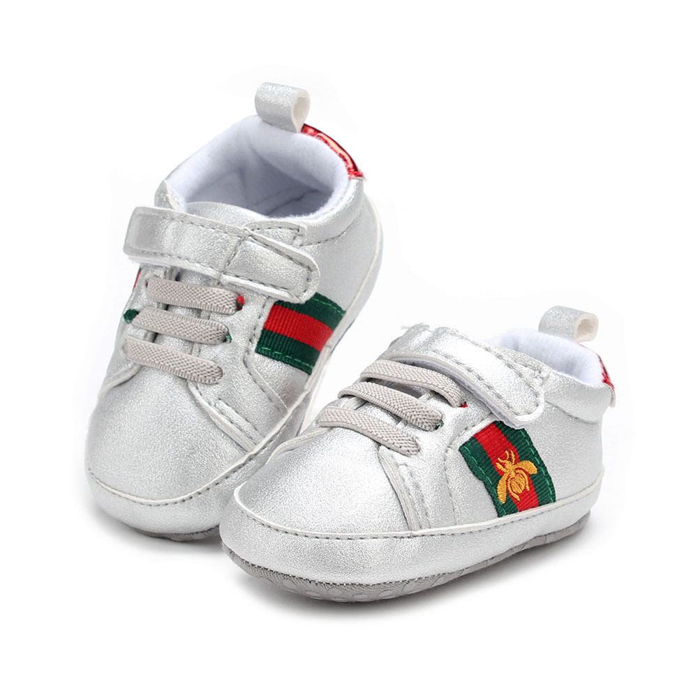 Gray Fashion Infant Toddler Shoes Boys Girls Newborn Shoes  G199 for sale  USA