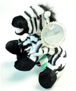 Coca-Cola Bean Bag Plush Zebra Topus International Collection NIGERIA 0241 - $18.90