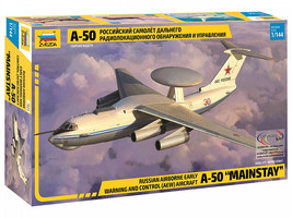 """Zvezda 7024 - Russian aircraft A-50 """"Mainstay"""" Scale 1/144 - $99.00"""