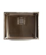 """Franke PKX11016 17"""" Peak Series Undermount Single Bowl Stainless Steel Sink - $589.05"""