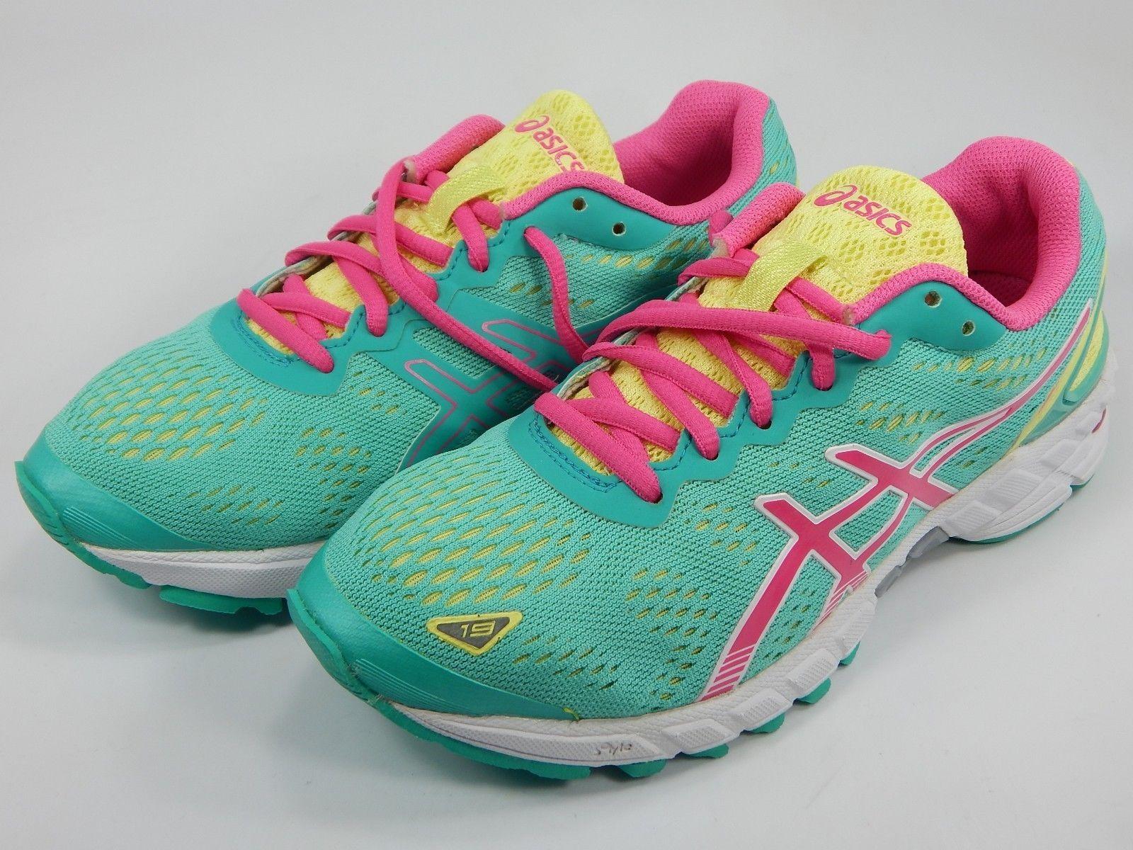 Asics Gel DS Trainer 19 Women's Running Shoes Size 6 M (B) EU 37 Green T455N