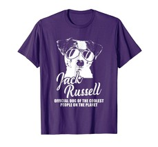 Dog Fashion - Jack Russell Official Dog Of The Coolest People T-Shirt Men - $19.95+