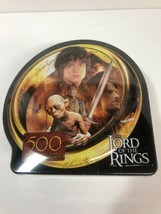 "New! Lord Of The Rings ""Guide to Mordor"" 500 Piece Puzzle Collectors Tin-Hasbro - $14.84"