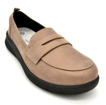 Clark Cloudsteppers Womens Sillian 2.0 Hope Slip On Loafers Size 8M Pewt... - $63.35