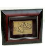 Framed Ding Darling Bronze Relief First Federal Mallard Duck Stamp 1934 ... - $346.49