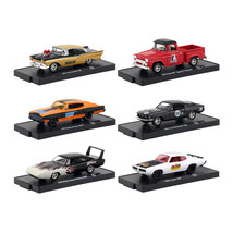 Drivers 6 Cars Set Release 54 in Blister Packs 1/64 Diecast Model Cars b... - $51.53