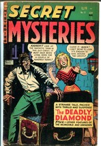 Secret Mysteries #17 1954-Merit Pubs-Myron Fass-Santa Claus-terror-occul... - $105.54