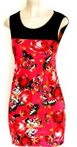 Womens Sleeveless Floral Simple Slim Fit Casual Party Bodycon Mini Tank ... - $12.97