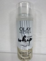 Olay Total Effect Cleansing Whip Polishing Creme Cleanser Anti Aging Dee... - $4.74