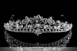 Devora Royal Silver Statement Tiara | Swarovski Crystal - $89.95