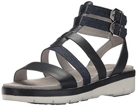 Jambu Women's Piper Sandal, Navy/Denim, 8 Medium US - $51.76