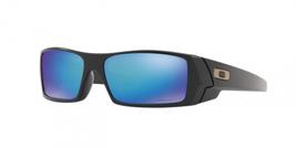 New Oakley Gascan sunglasses Black Prizm Sapphire Polarized OO9014-50 Genuine - $151.47