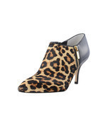 Michael Kors Women's Clara Natural Printes Haircalf Mid Bootie $185.00 S... - $109.99