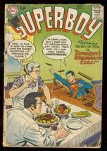 SUPERBOY #59 1957-DC COMICS-SUPERBOY MEETS AMAZING MAN FR - $31.53