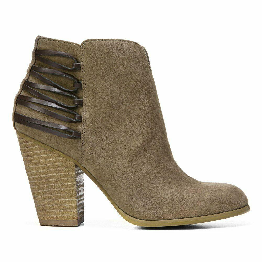 Carlos By Carlo Santana Women'S Hawkins Ankle Bootie, Charcoal Grey, Size 5.5
