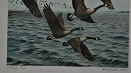 1984 1st Chesapeake Bay Conservation Stamp & Print > Canada Goose LIt, E... - $34.65