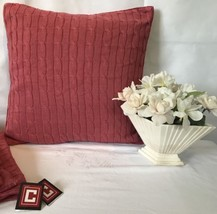 Ralph Lauren Chaps Pillow Sham Cases 5 Button Up Pink New With Tags - $140.16